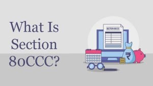 What Is Section 80CCC?