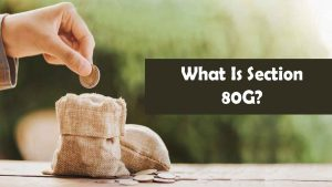 What Is Section 80G?