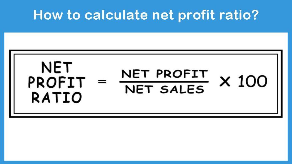calculate net profit ratio