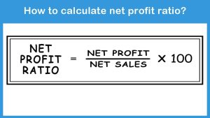 How to calculate net profit ratio?