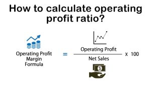 How to calculate operating profit ratio?