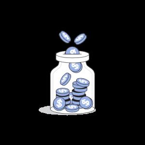 Money jar_Flatline