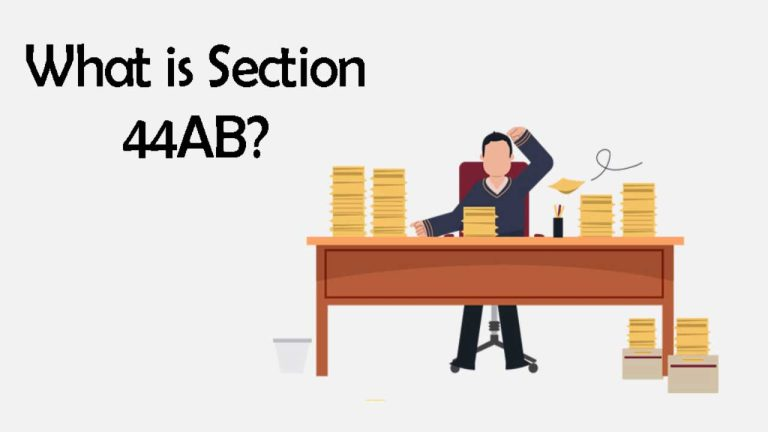 Read more about the article What is Section 44AB?